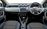 Dacia Duster Bi-Fuel 2020 UK first drive review - cabin