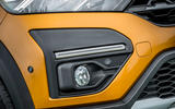 6 Dacia Sandero Stepway 2021 UK first drive review foglights