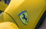 Ferrari 488 Pista Spider 2019 first drive review - side badge