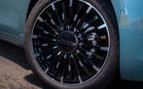 q2021 Fiat 500 electric left-hand drive UK review - alloy wheels
