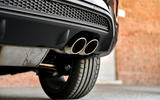 Fiat 500x Sport 2019 first drive review - exhaust