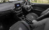 Ford Fiesta EcoBoost mHEV 2020 UK first drive review - cabin