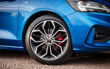 Ford Focus ST-Line 182PS 2018 UK first drive review - alloy wheels