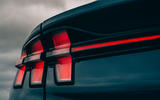 Ford Mustang Mach E 2021 UK first drive review -  rear lights