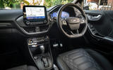 Ford Puma Vignale 2020 UK first drive review - dashboard