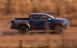 Ford Ranger Raptor 2018 first drive review side view