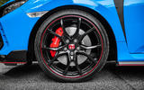 Honda Civic Type R 2020 UK first drive review - alloy wheels