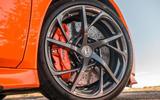 Honda NSX 2019 UK first drive review - alloy wheels
