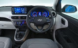 Hyundai i10 2020 UK first drive review - dashboard