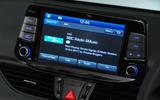 Hyundai i30 N 2018 UK review infotainment