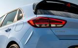 6 Hyundai i30N DCT 2021 UK FD rear lights