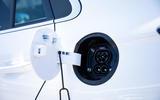 Hyundai Ioniq Electric 2019 first drive review - charging port