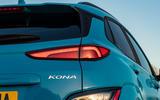 6 Hyundai Kona Electric 2021 UK first drive review rear lights