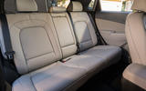 Hyundai Kona Electric 2018 first drive review rear seats
