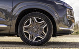 6 Hyundai Santa fe 2021 UK first drive review alloy wheels
