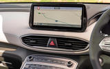 6 Hyundai Santa Fe PHEV 2021 UK FD infotainment