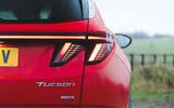 6 Hyundai Tucson MHEV 2021 uk first drive review rear lights