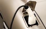 Jaguar E-Type Zero concept - power socket with plug