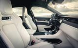 6 Jaguar F Pace SVR 2021 UK first drive review cabin