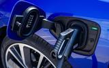 Jaguar I-Pace 2018 review charging plug