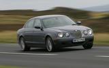 Jaguar S-Type R - hero front