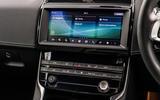 Jaguar XE 20t 2018 UK first drive review - infotainment