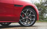 Jaguar XE P300 2019 first drive review - alloy wheels