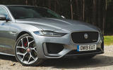 Jaguar XE P300 2019 UK first drive review - front end