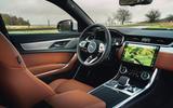 6 Jaguar XF 2021 UK first drive review cabin