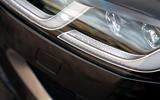 6 Jaguar XF Sportbrake P250 2021 UK review headlights