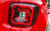 Jeep renegade Longitude 2019 UK first drive review - rear lights