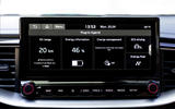 Kia Ceed Sportswagon PHEV 2020 first drive - infotainment