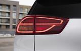 6 Kia e Niro 39kWh 2021 UK first drive review rear lights