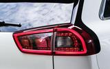 Kia Niro EV 2019 first drive review rear lights