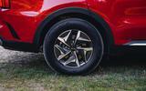 Kia Sorento hybrid 2020 UK first drive review - alloy wheels