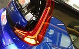Kia Soul EV 2019 first drive review - rear lights