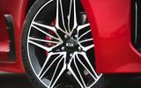 6 Kia Stinger GT S 2021 UK review alloy wheels
