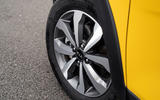6 Kia Stonic 48v 2021 UK first drive review alloy wheels