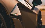 Lamborghini Aventador SVJ Roadster 2019 first drive review - intake detail