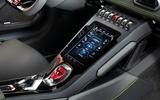 Lamborghini Huracan EVO RWD 2020 UK first drive review - centre console
