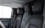 6 Land Rover Defender Hard Top Commercial 90 UK FD jump seat