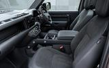 6 Land Rover Defender V8 2021 UK FD cabin