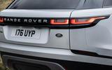 6 Land Rover Range Rover Velar PHEV 2021 UK first drive review rear lights