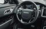 Land Rover Range Rover Velar SVAutobiography 2019 first drive review - steering wheel