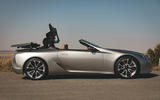 Lexus LC Convertible 2020 UK first drive review - roof opening