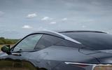 6 Lexus LC500 2021 UK FD roofline