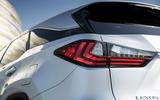 Lexus RX 450hL 2018 review rear lights