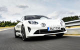 Litchfield Alpine A110 2018 UK review - on the road nose