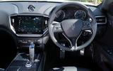 6 Maserati Ghibli Hybrid 2021 UK FD dashboard