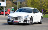Maserati Quattroporte - spy shot